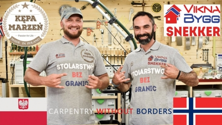 Stolarstwo Bez Granic - Kępa Marzen i Robert Snekker | Carpentry Without Borders